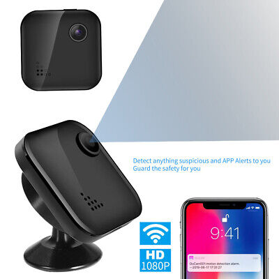 Wireless Spy Camera Hidden Camera with 1080P Ultra Mini & Tiny Nanny Cameras GH