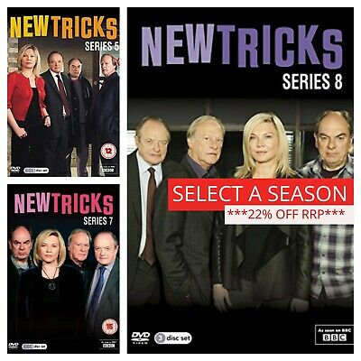New Tricks DVD Box Set Complete Series 1 2 3 4 5 6 7 8 9 10 11 12 Collections
