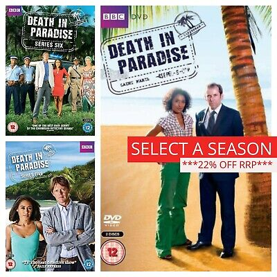 Death in Paradise Series 1 2 3 4 5 6 7 8 DVD Box Set Complete Collection (DVD)