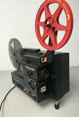 Chinon Sound 7800H Twin Track Mag SUPER 8 Sound CINE  PROJECTOR fully serviced