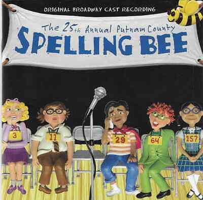 THE 25TH ANNUAL PUTNAM COUNTY SPELLING BEE Original Broadway Cast Recording CD