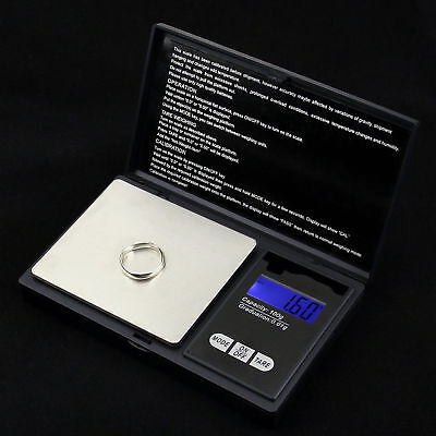 New Digital Pocket Scale Jewelry Weight Electronic Balance Gram Industrial Tools