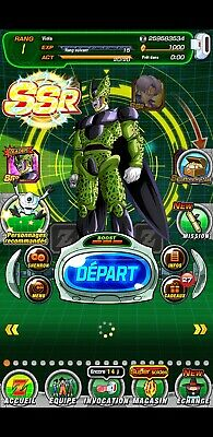 ⭐️Dokkan Battle - Global- ⭐️ Fresh 3 LR New Cell +1000 DS  🌟Android 🌟