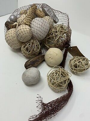 Exotic Botanicals Collection Fragranced Home Decor Decorative Bowl Ornaments