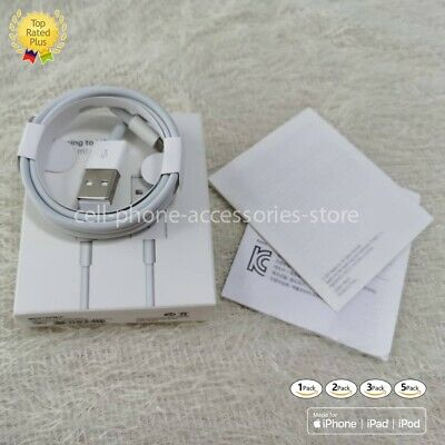 Original Charger for Apple iPhone 7 plus 8 USB Lightning Cable OEM XS 6 Genuine