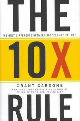 The 10X Rule by Grant Cardone-MP3 audio audiobook format