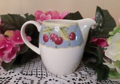 Mikasa Optima Creamer Fruit Rapture  Excellent!