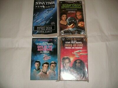 4 x Star Trek books – Kirk and Picard - Read the description