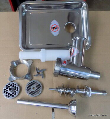 Hobart And All Others W/ #12 Drive Hub Stainless Steel Meat Grinder Attachment