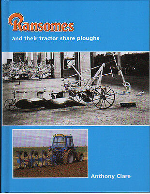 Farming Book - Ransomes and their tractor share ploughs