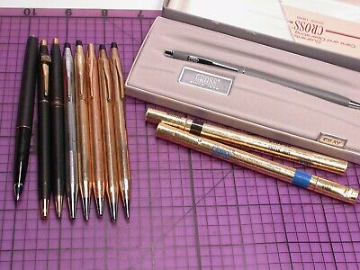 BACK TO SCHOOL SALE Cross Ladies Century 10k Gold Filled Pencil 450305 USA MINT