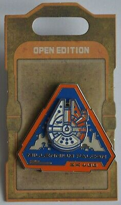 Disney Parks Star Wars Galaxy's Edge The Millennium Flacon Badge OE Pin NEW
