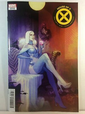 HOUSE of X #3 Mike Huddleston EMMA FROST/White Queen VARIANT COVER! HOT HOT HOT!