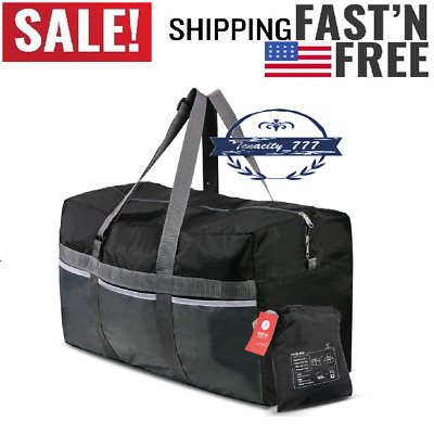"75L Foldable Duffel Bag Large Size Lightweight & Multifunction, 25"" WaterProof"