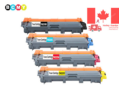 4PK Toner Cartridge TN-221 TN-225 For Brother MFC-9130CW Brother HL-3140CW Br...