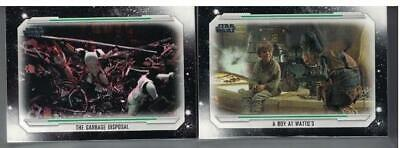 2019 Topps Star Wars Skywalker Saga Complete Base Set Of 100 Cards In Stock