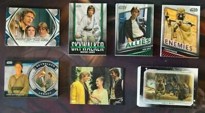 2019 Topps Star Wars Skywalker Saga Complete Master Set Of 151 Cards In Stock