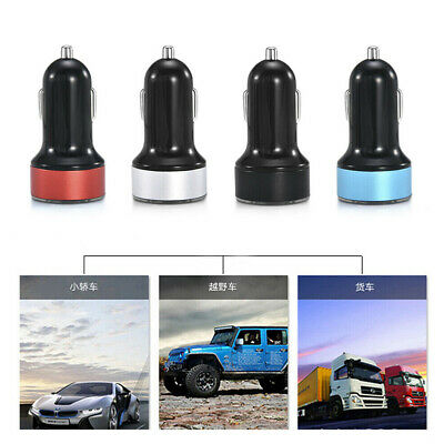3.1A Dual USB Car Charger 2 Ports LCD Display 12-24V Cigarette Socket Lighter SB