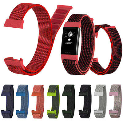 Wristband Nylon Fiber Band Wrist Strap Breathable For Fitbit Charge 3