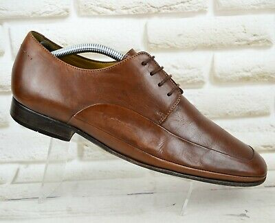 CLARKS FLEX MENS Brown Leather Formal Casual Shoes Lace up