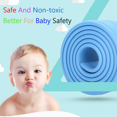 2M Baby Safety Desk Table Edge Corner Protector Cushion Guard Strip Foam Bumper