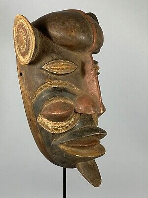 190807 - Tribal Used African Mask from the BOBO - Burkina Faso.