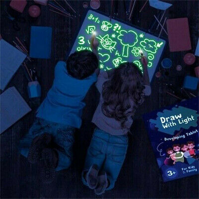 Draw With Light Fun And Developing Toy Drawing Board Magic Draw Activity