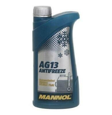 MANNOL AG13 Concentrated GREEN Antifreeze (Hightec) / Winter Coolant - 1L