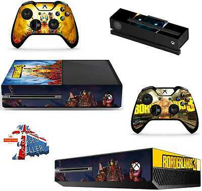 Borderlands 3 Xbox One*Textured Vinyl ! *Protective Skin Decal Wrap
