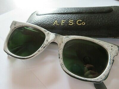 Vintage Safety Tinted Glasses Goggles Steampunk Retro Appleby Steelworks