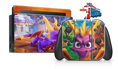 Spyro Reignited Trilogy Nintendo Switch **Textured Vinyl ! *  Skins Decals Wrap