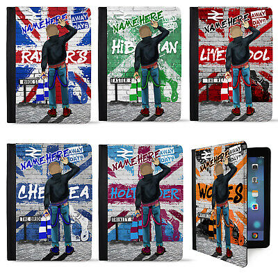 Skinhead Football iPad Air Case Mod Tablet Cover Personalised Gift ALL TEAMS
