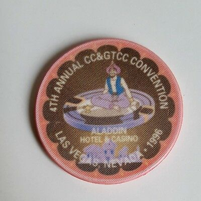 Las Vegas Aladdin 4th Annual CC & GTCC Convention Casino Chip