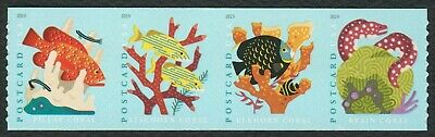 #5370a Coral Reefs, Se-Tenant Strip, Mint ANY 4=