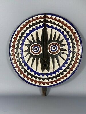 190902- Tribal Used African Mask from the BOBO - Burkina Faso.