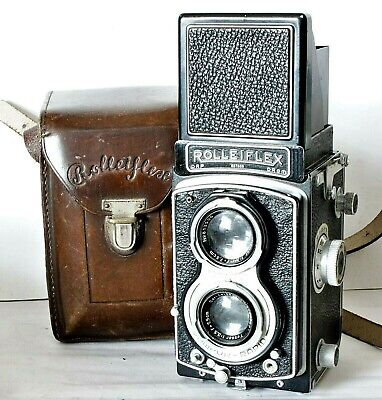 Rolleiflex Automat 6x6 120 Film TLR Camera - Model 2 or K4B From 1939