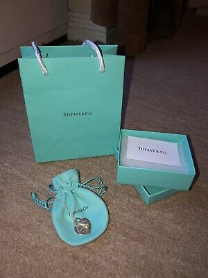 Tiffany Necklace - Love Heart Pendant With Key