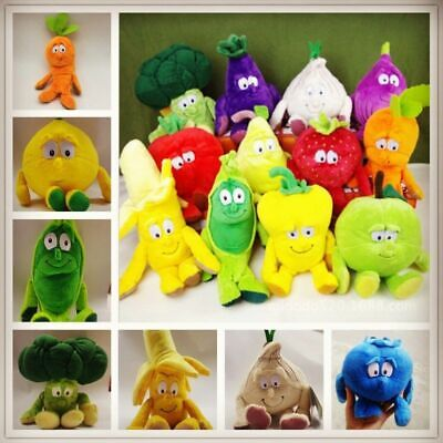 Co-Op Vegetable Fruit Baby Pillow Cushion Doll Soft Plush Stuffed Toys Gift Kids