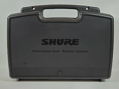 Replacement Case for Shure Performance Gear Wireless Guitar System PGX4 PGX1