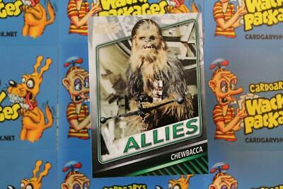 2019 Topps Star Wars Skywalker Saga Allies Chase Card A-3 Chewbacca