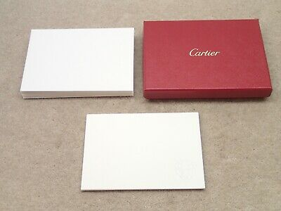 Cartier Panther 9 Note Card Special Edition Post Salon Horlogerie Stationary Set