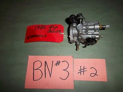 New OEM Johnson Evinrude OMC 35 to 175 HP Screw Carburetor 333430 Outboard
