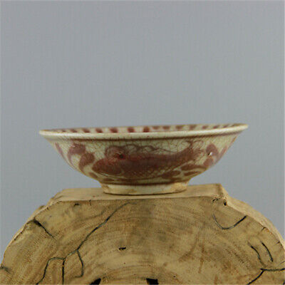 Chinese ancient antique hand make bowl Porcelain Decoration a54