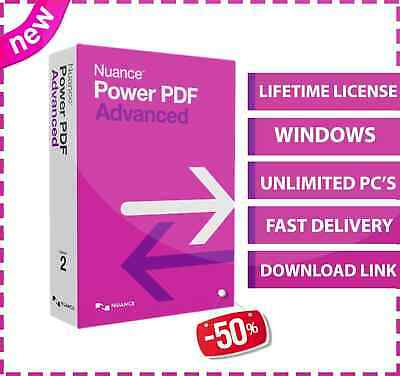 Nuance Power PDF Advanced v2.1 , Secure PDF documents, Fast Email Delivery 🚛📥