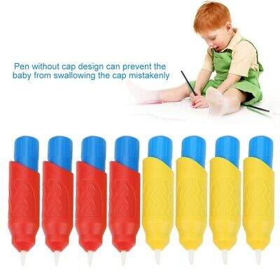 8Pcs Water Drawing Toy Magic Pen  Set Draw Drawing Kids Art Craft Doodle Toy