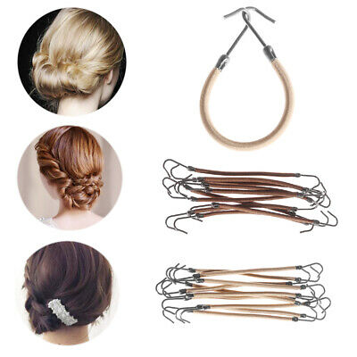Ties Hair Accessories with Hook Elastic Clips Women Hair Ropes Ponytail Holder