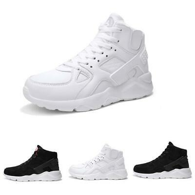 Mens Breathable High Top Fashion Casual Sport Basketball Sneakers Running Shoes