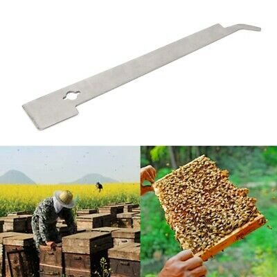 Beekeeper J Shape Bee Hook Hive Beekeeping Equip Stainless Steel Scraper Tools