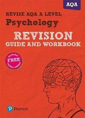 Revise AQA A Level Psychology Revision Guide and Workbook: (with free online...