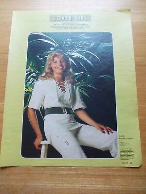 Couvin Cover Girl Angelique Fernaud 1975